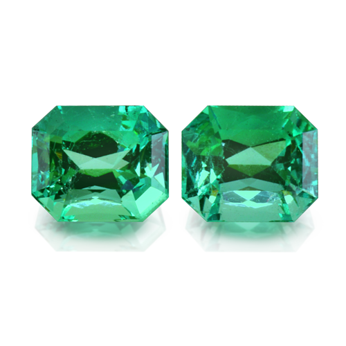Emerald Pair - 10,3 ct